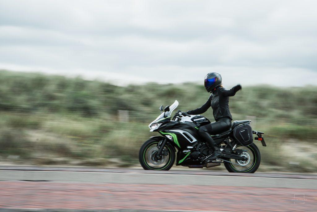 Kawasaki ninja test